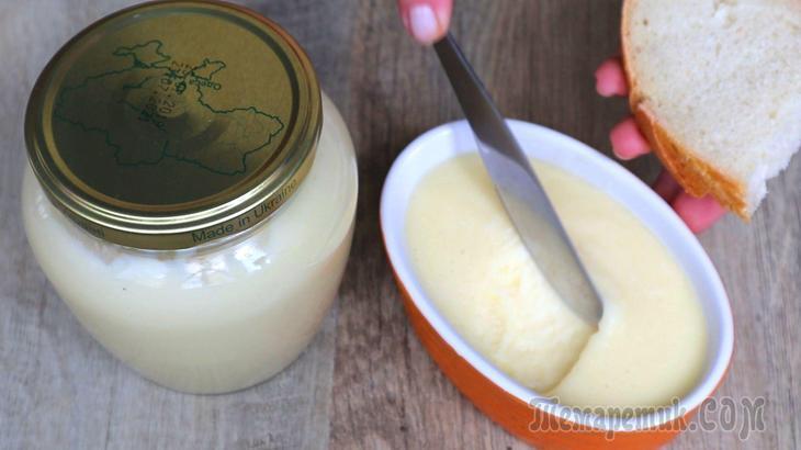 Плавленый сыр за 10 минут из 2 основных ингредиентов!