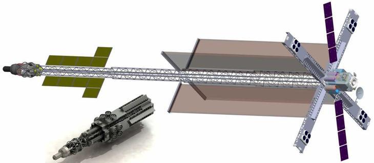 Эскизный вариант транспортно-энергетического модуля /© РКК Энергия