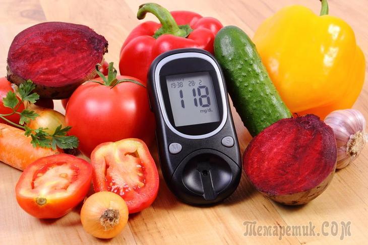 Лучшая диета при сахарном диабете 2 типа