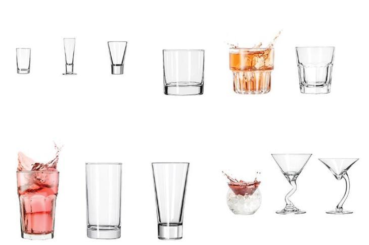 Классификация стекла в современном баре выпивка, интересное, история, лафитники, посуда, рюмки, стаканы, факты