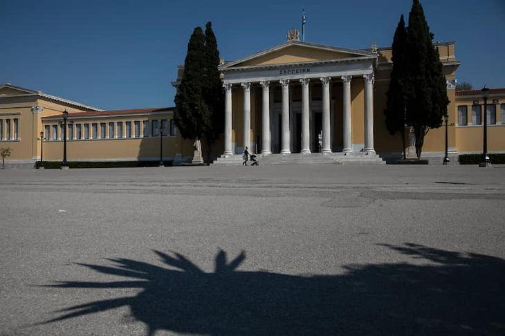 Выставочный зал «Заппион». Афины, Греция