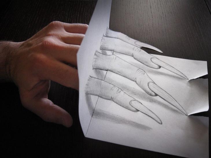 3Ddrawings04 Самые впечатляющие карандашные 3D рисунки от художников со всего света