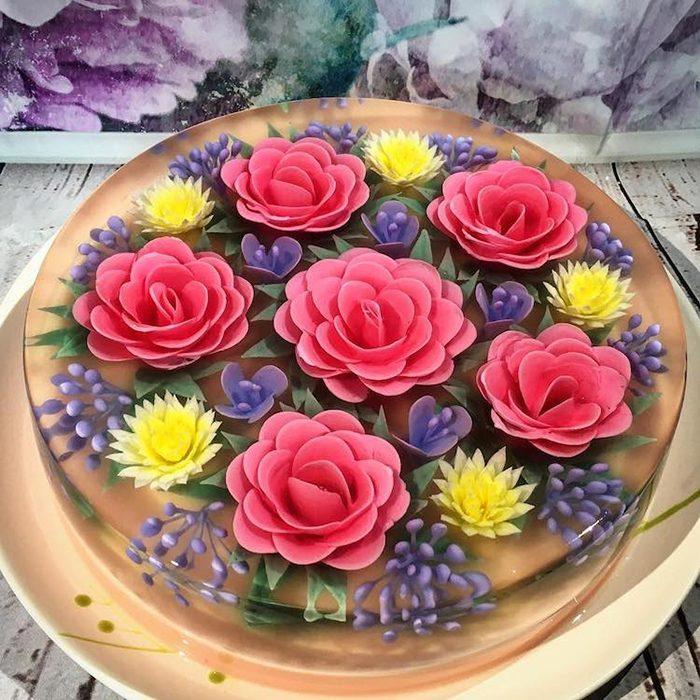 ЗD-торты от мастерицы Сью Хен Бун