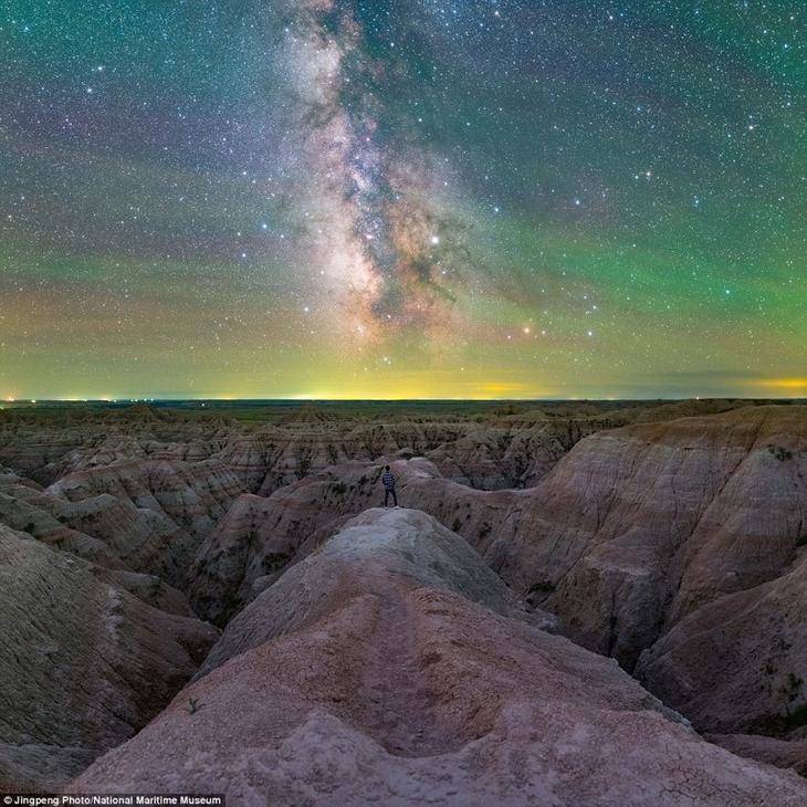 Панорама из шести снимков. Цзинпень Лю, США астрономия, конкурс, космос, красиво, лучшее, планеты, фото, фотографы