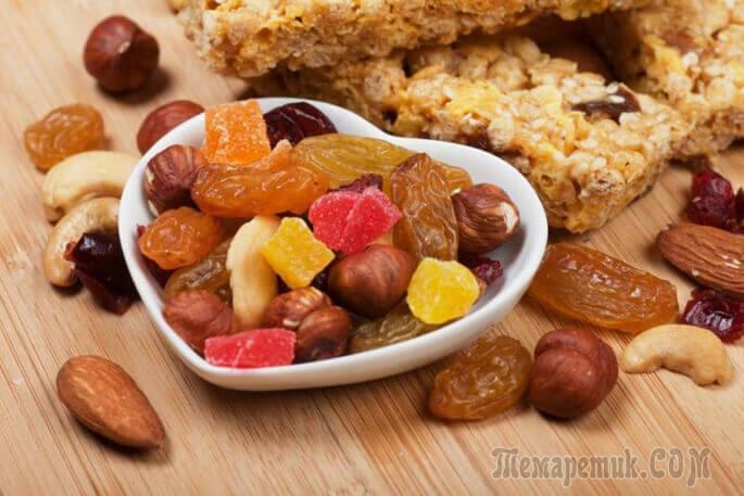 Какие сухофрукты можно есть при похудении