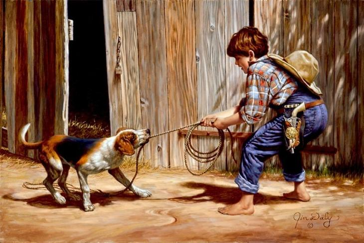 Сентиментальное путешествие в страну детства с Джимом Дейли, фото № 4