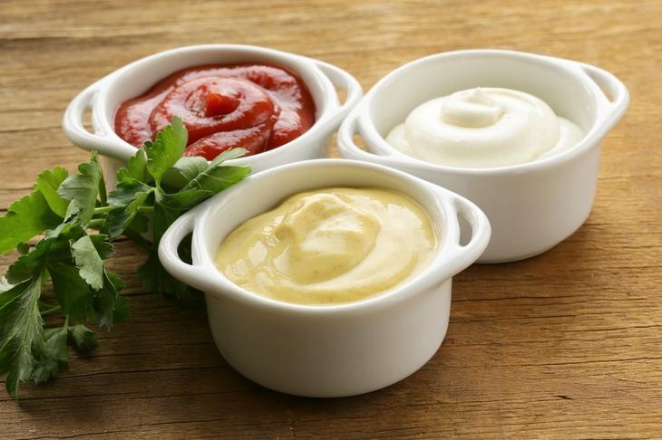Кетчупы и соусы