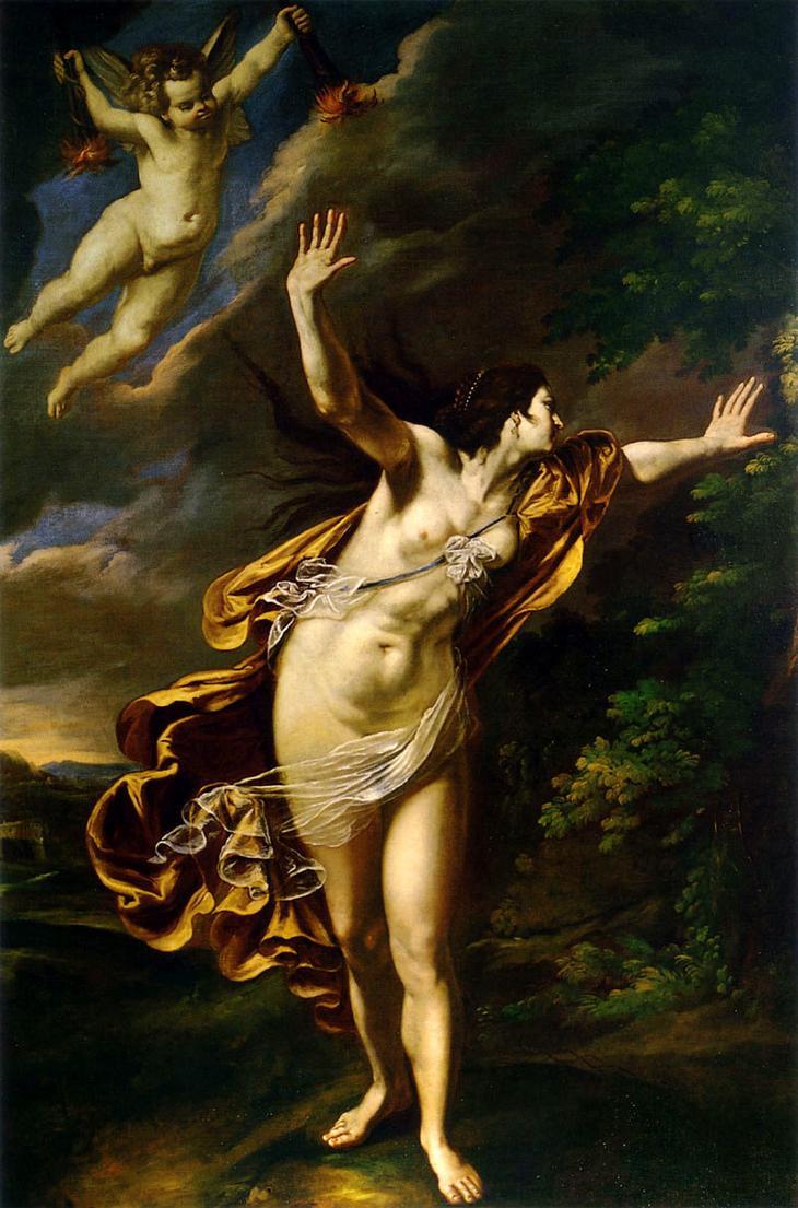 Аврора (лат. Aurora «утренняя заря» от aura «предрассветный ветерок») — древнеримская богиня зари. Соответствует древнегреческой богине Эос.