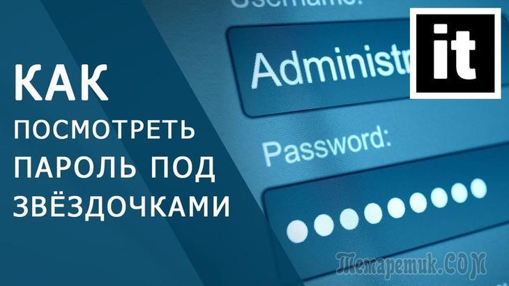 Как посмотреть пароль под звездочками (точками) в браузере