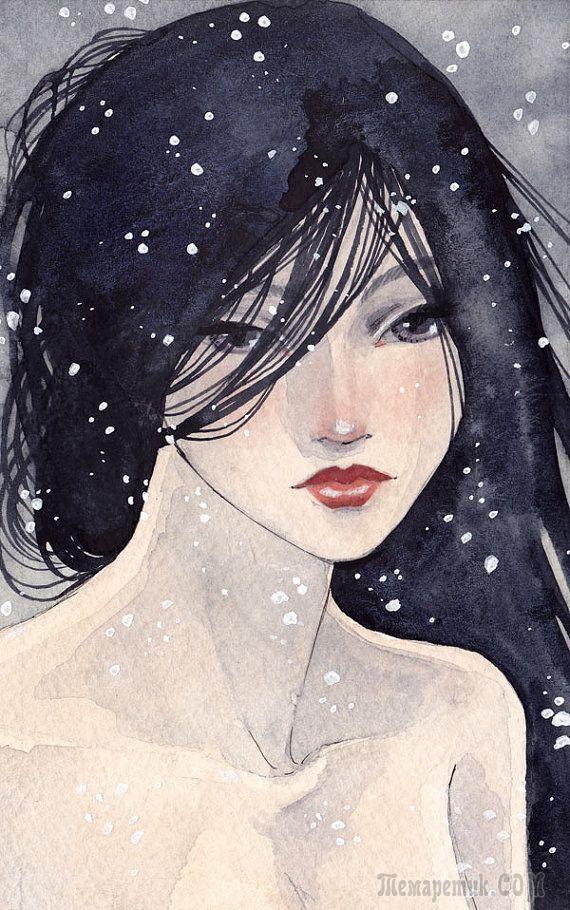 Падал прошлогодний снег (Стих)