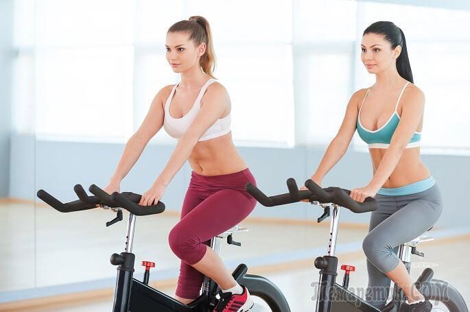 похудеть с помощью велотренажера отзывы