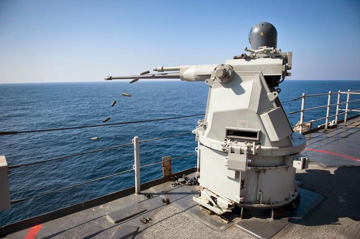 4. Mk 38 Mod 2 Tactical Laser System. будущее, лазерное оружие, лазеры, оружие