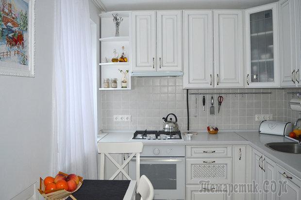 "Кухня: на 5,7 ""квадрата"", но вместительная"