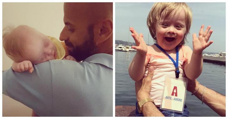 Лучик позитива: мужчина удочерил девочку с синдромом Дауна, после того как от нее отказались 20 семей