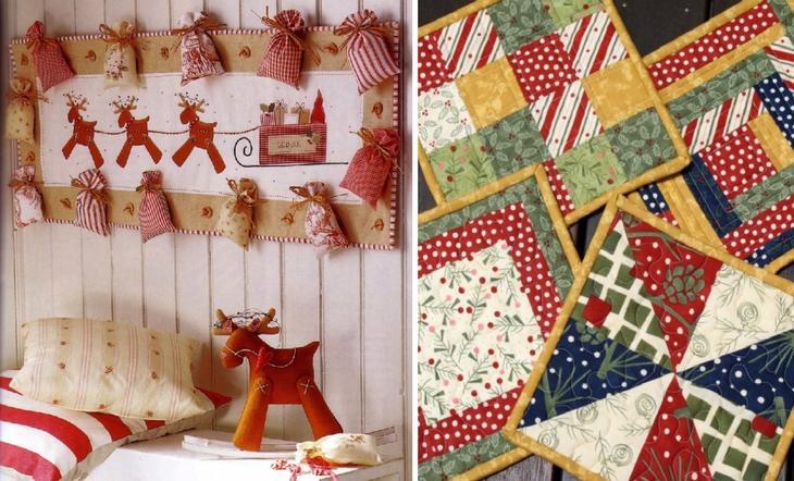 Панно из ткани в скандинавской тематике