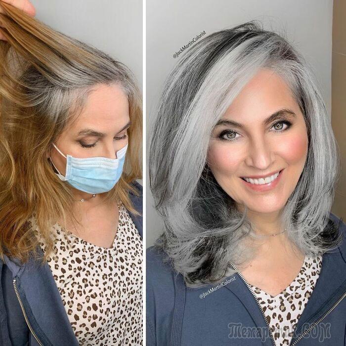 Колорист так классно красит седые волосы женщин, что они больше не хотят их прятать