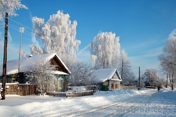Зимняя Русь. Великолепные фото!