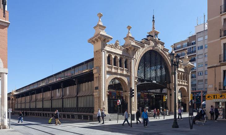 Центральный рынок Сарагосы