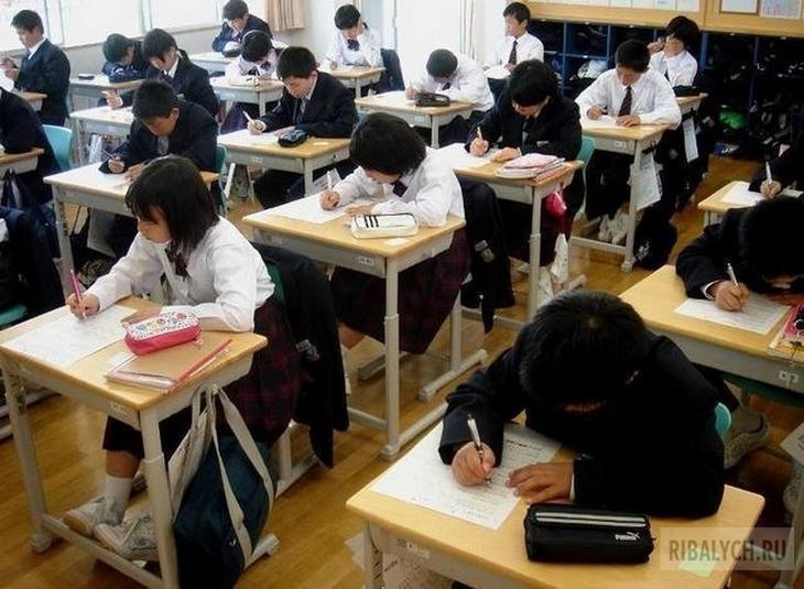 факты о японской школе