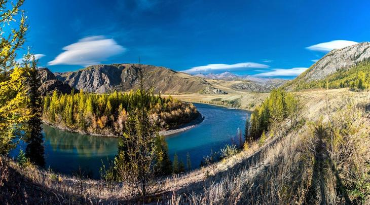 Reka Chuya krasota Altaya 2
