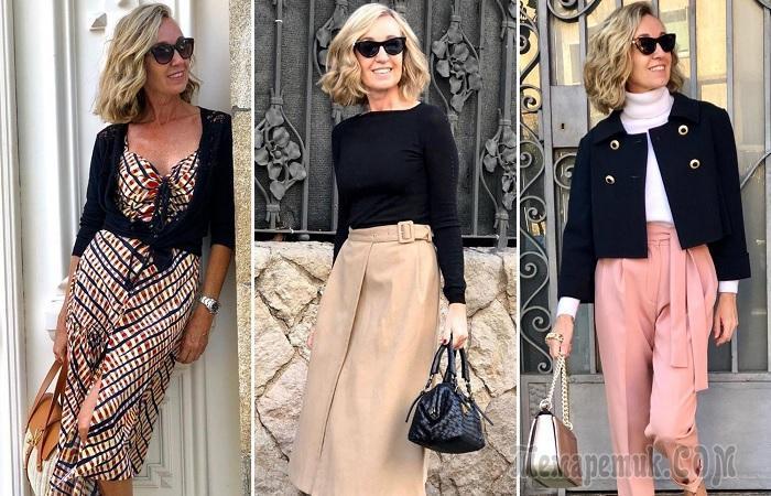 Как красиво одеваться для женщинам за 50: секреты стиля от Майки Хауреги