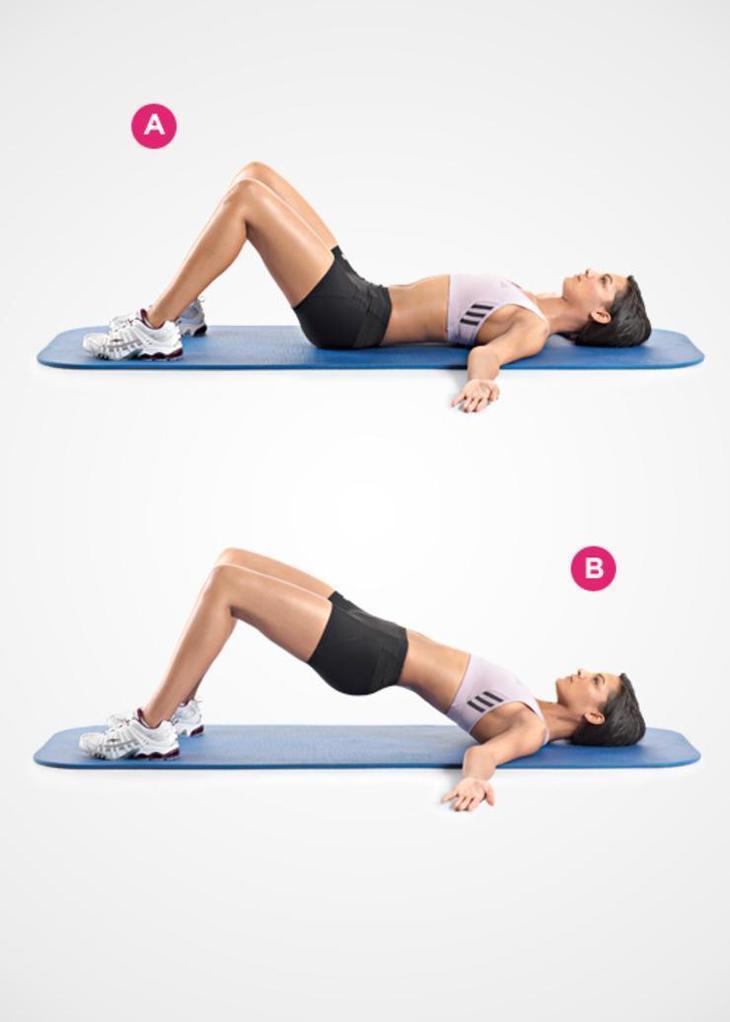 Как убрать ушки на бедрах: упражнения, питание, массаж