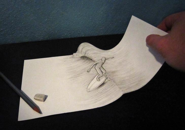 3Ddrawings24 Самые впечатляющие карандашные 3D рисунки от художников со всего света