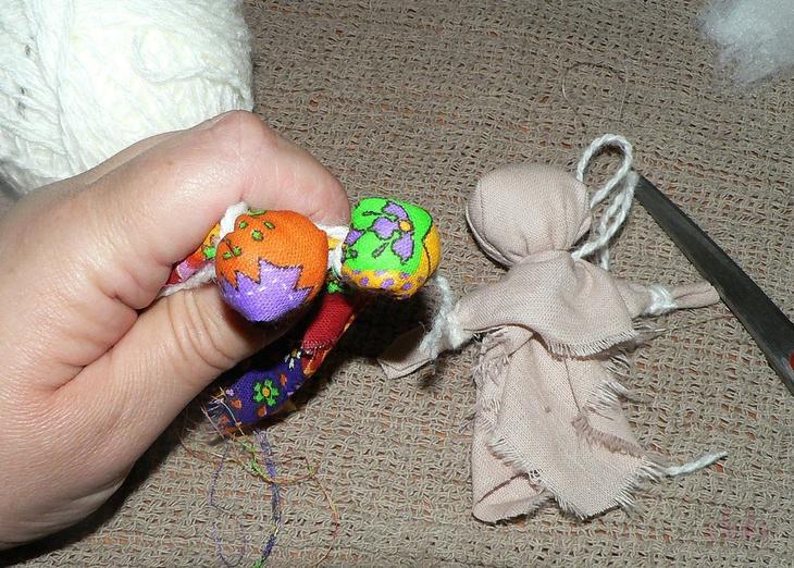 Куклы обереги своими руками из ткани и ниток