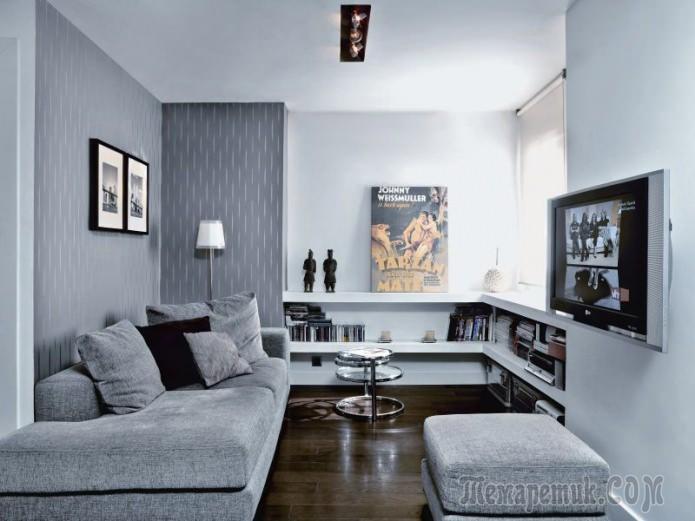 Оформление квартиры-студии 35 кв. м.
