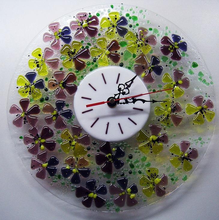 Фьюзинг-часы, которые послужат великолепным украшением