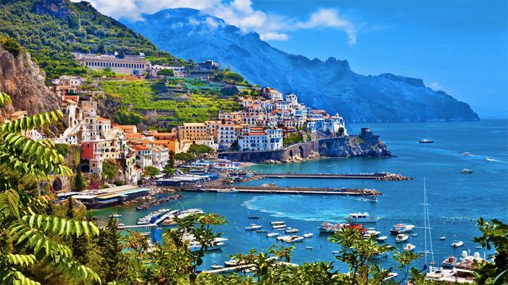 Побережье Амальфи, Италия виды, города, история, факты, фото