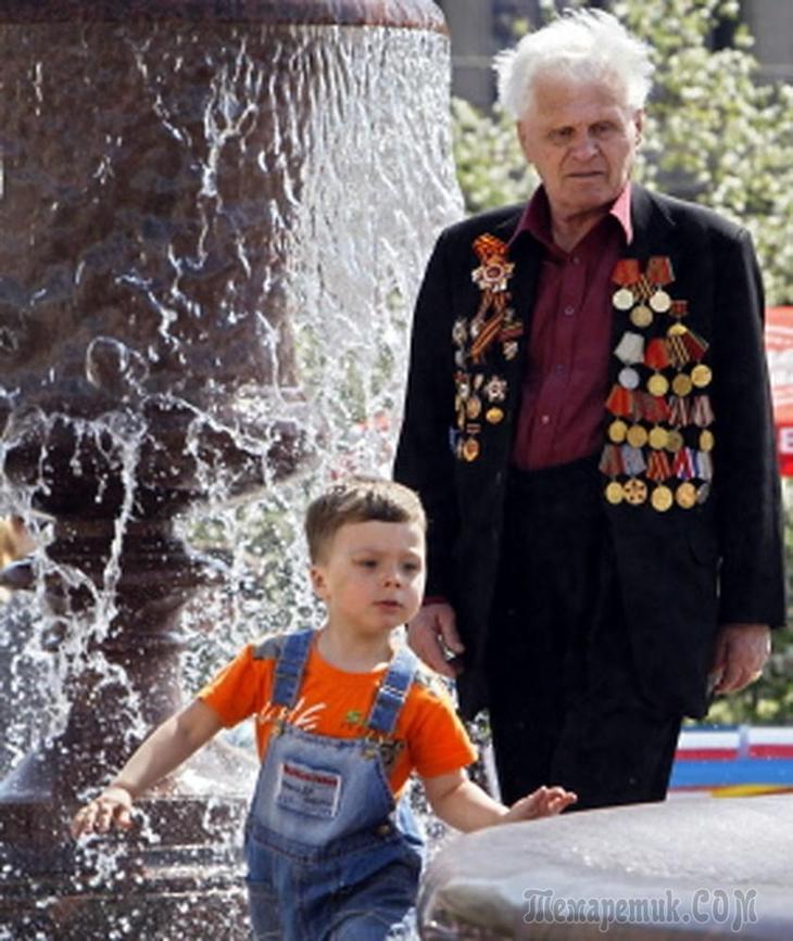 поздравления с днем победы внучкам и внуку такими