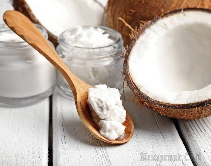 Кокосовое масло для волос: использование, польза и вред