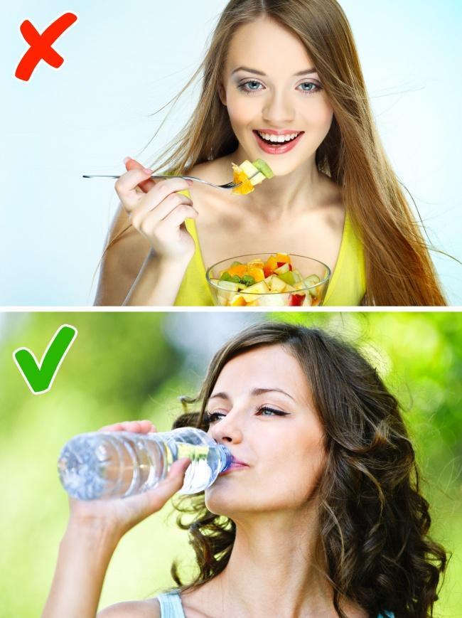 6 вещей, которые не стоит делать после еды