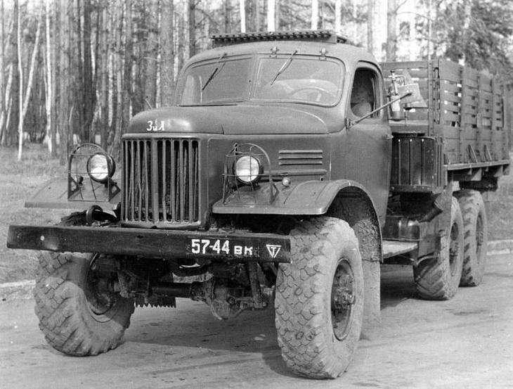 ЗИЛ-157: «автомат Калашникова» среди армейских грузовиков