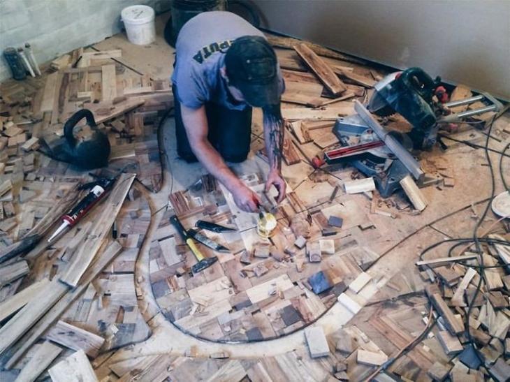 Как сделать шедевр из кусочков древесины