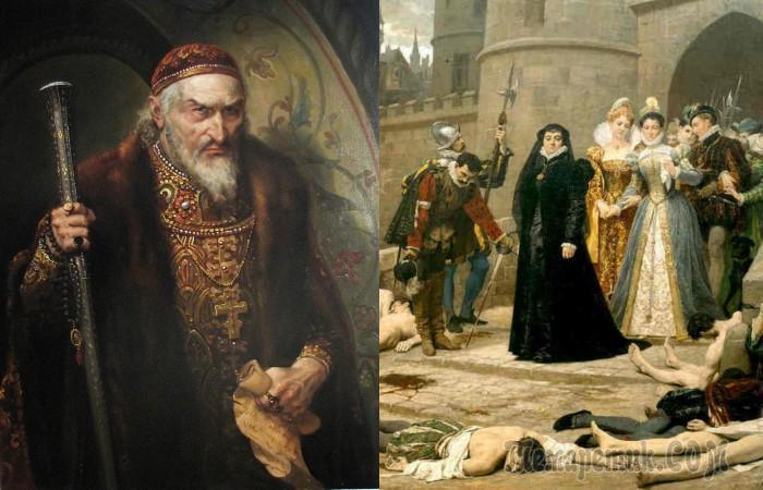 Что происходило в Европе и Азии, когда на Руси правил Иван Грозный