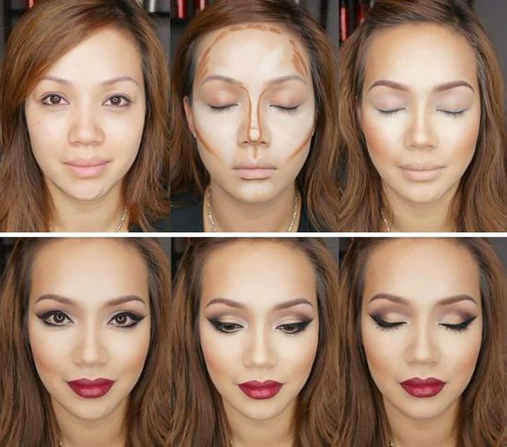 Как сделать идеальный макияж самой пошаговое фото будьте, жадными