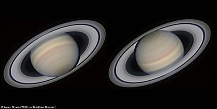 Для этого изображения были сделаны 4000 фотографий Сатурна. Авани Суарез, Бразилия. астрономия, конкурс, космос, красиво, лучшее, планеты, фото, фотографы