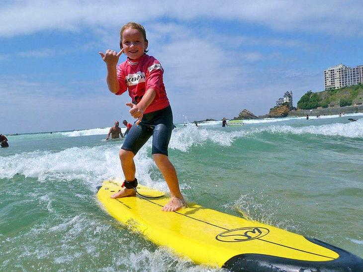 Австралия: серфинг  дети, уроки, школа