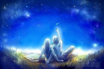 Нам звёзды падали в ладони (Стих)