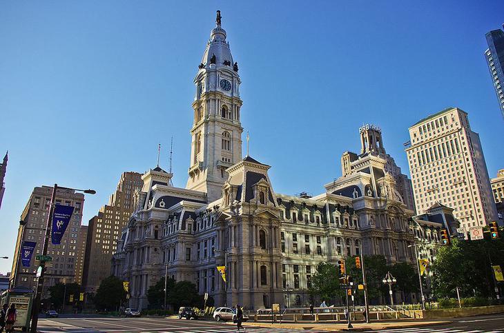 Городская ратуша в Филадельфии