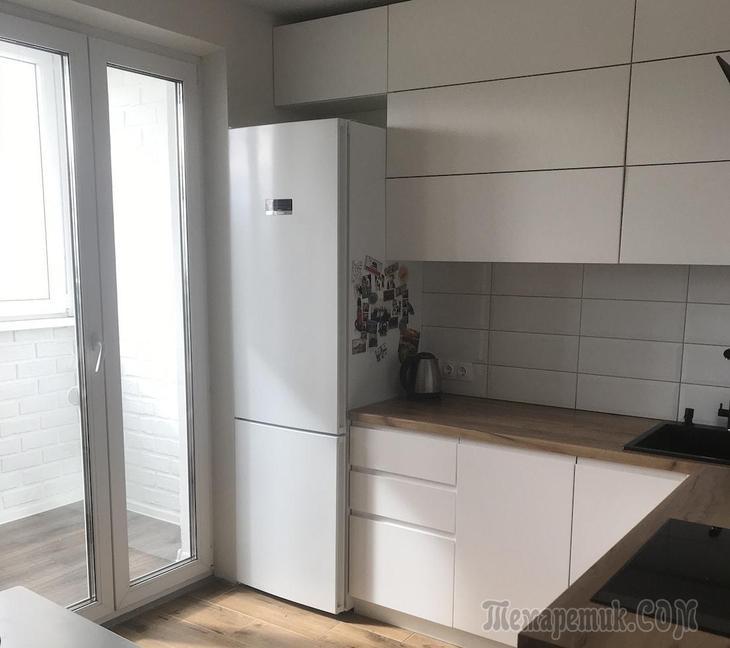 Минчанка о ремонте кухни и балкона, на которых сэкономила кучу денег