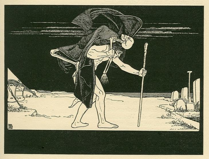 Диббук интересно, легенды, мифы, познавательно, религия, страхи человечества, страшно, чудовища