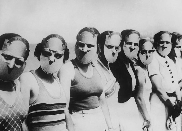 «Мисс красивые глазки», 1930-е