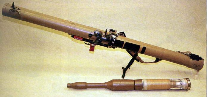 Гранатомет РПГ-29 и его тандемный снаряд