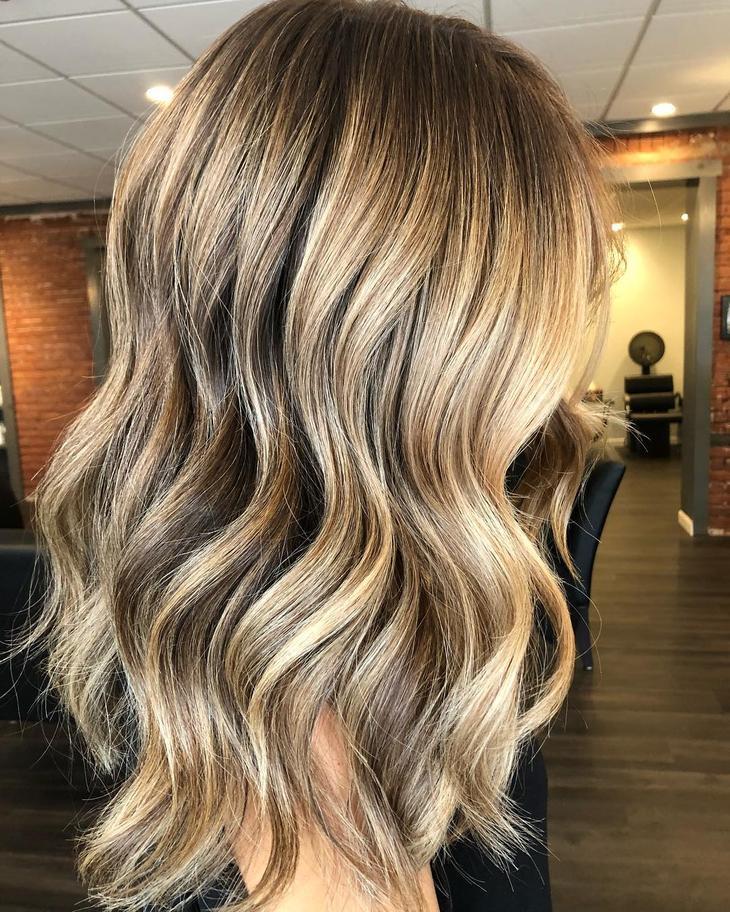 оттенки волос, популярные в 2019 фото 4
