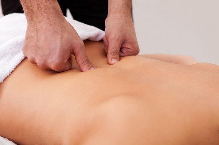Точечный массаж при ишиасе