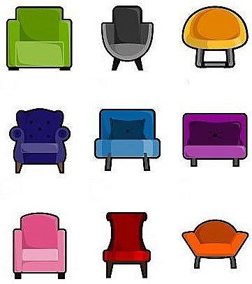 Тест - выберите кресло узнайте о себе
