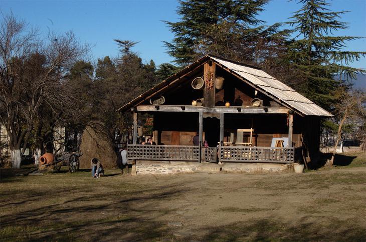 Этнографический музей под открытым небом в Тбилиси